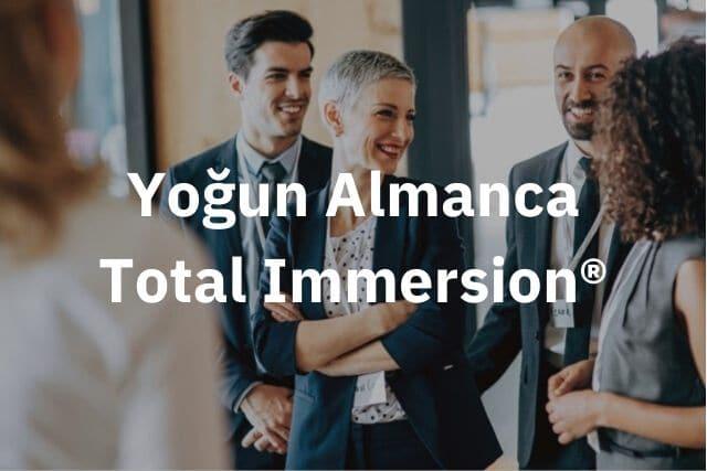 Yoğun Almanca Total Immersion®