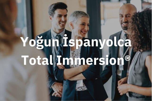 Yogun ispanyolca Total Immersion