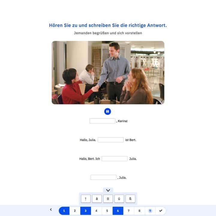 online Almanca kursu - ses tanıma teknolojisi - konuşarak Almanca öğren - online german course - master your german speaking ability