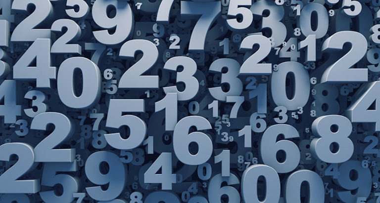 İngilizce sayılar birden yüze kadar - numbers in english
